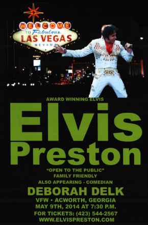 Elvis Preston Live at the Acworth, GA VFW