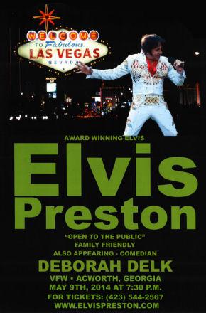 Elvis Preston Live at the Acworth, GA VFW